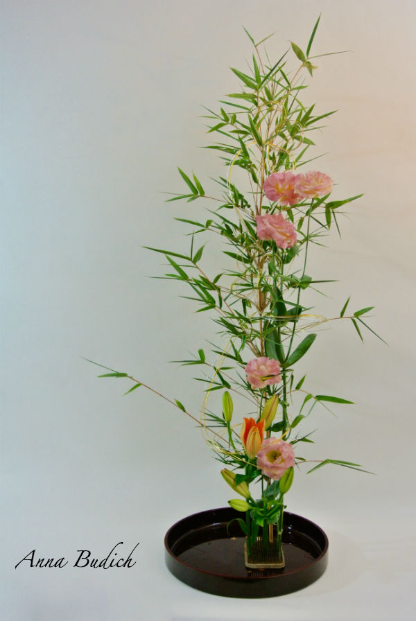 My Ikebana to celebrate Tanabata