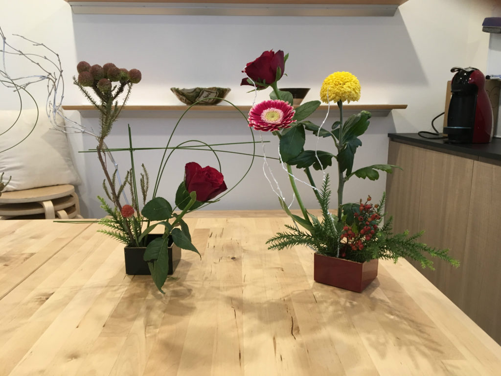 Ikebana and Tea Ceremony