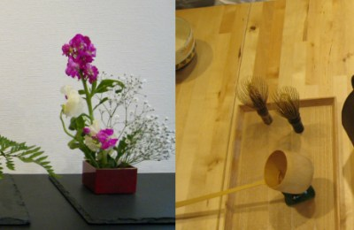 Hanami Workshop with Ikebana and Tea Ceremony