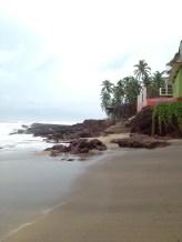 After the rain on Anjuna Beach, Goa. Photo taken and owned by Eeva Valiharju/Wanders The World