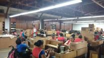 A cigar factory in Esteli