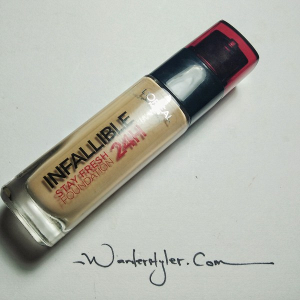 L'Oreal Infallible Foundation