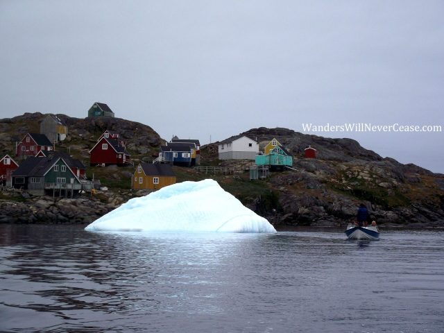 Boat Tour in Kulusk, Greenland. Iceland to Greenland Day Trip
