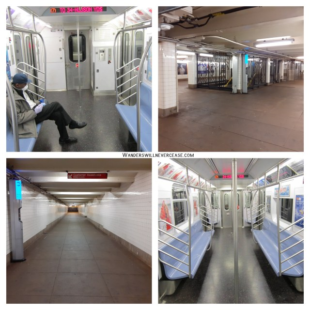 Coronavirus Subway New York