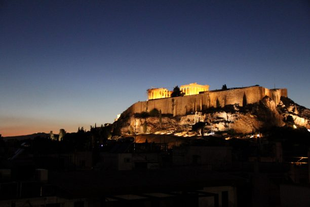 Acropolis Sunset 1