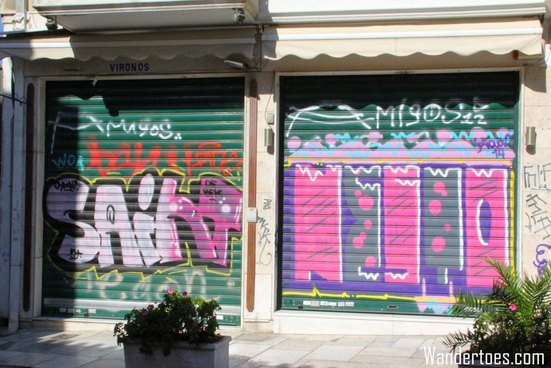 Athens Grafitti 2 Wandertoes