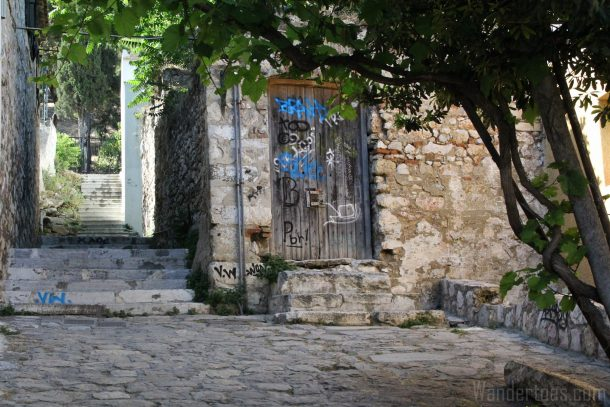Athens Grafitti Door 3 Wandertoes