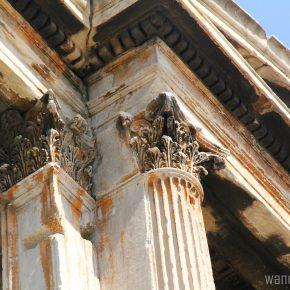 Athens: Arch Hadrian, Temple Zeus