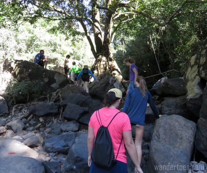 waterfall-climb