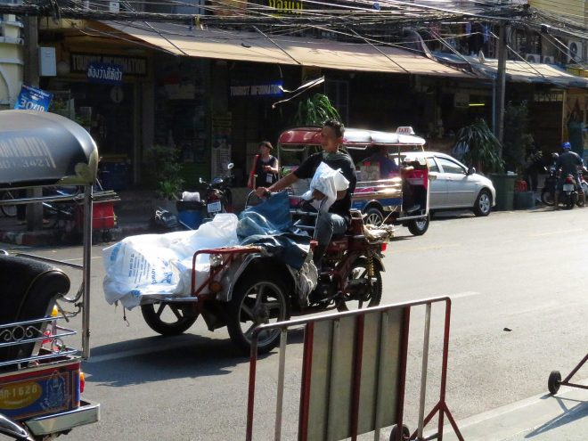 Thailand traffic crazy scary things we see