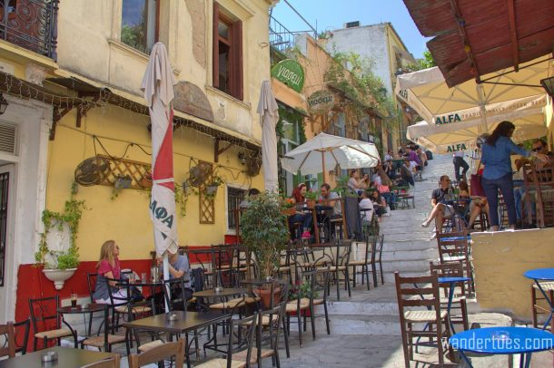 Plaka Steps Restaurants