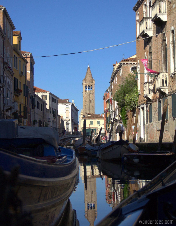 Alex Hai Gondola Private Tour Ride Venice Italy Cammpanile