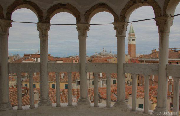 Scala Contarini del Bovolo exterior photo Hidden Gem Top Secret Sights Venice Italy