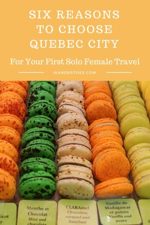 Reasons to choose Quebec City Canada First Solo Female Travel