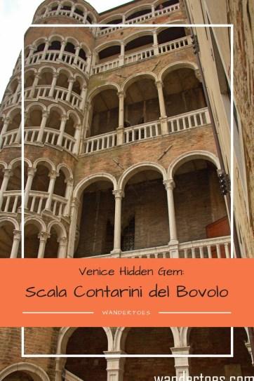 Scala Contarini del Bovolo Hidden Gem Venice Ital