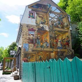 Quebec City History in Murals