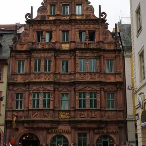 Heidelberg's 2nd Most Photographed Site: Historic Hotel Zum Ritter St. Georg