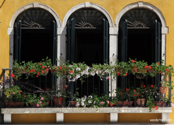 Balcony Triple Window Venice