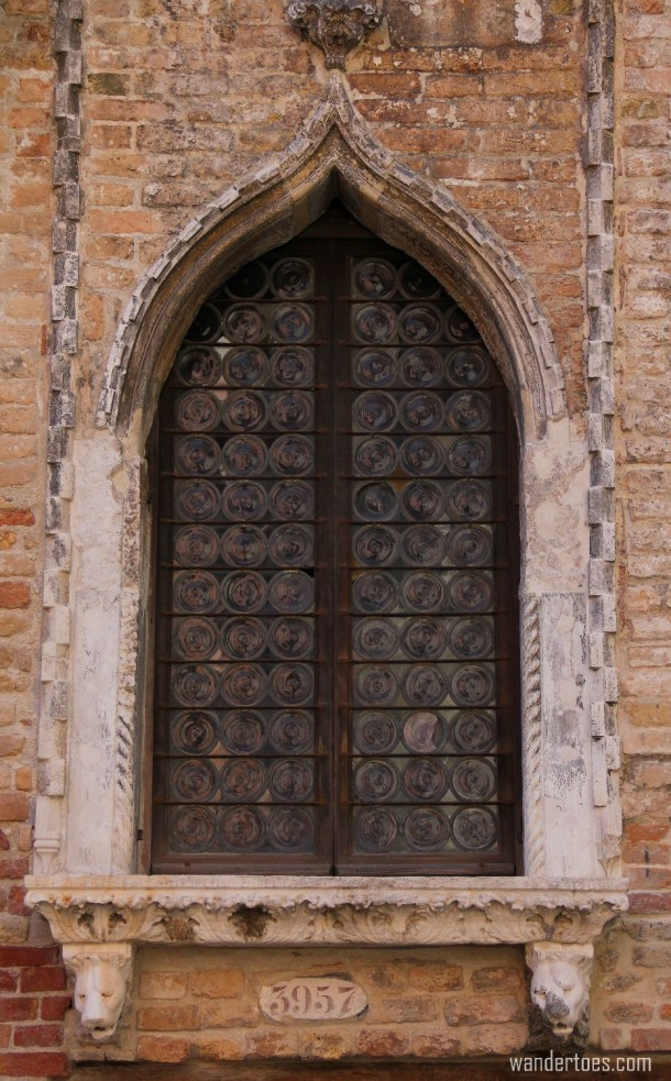 Windows and Architecture of Venice, Italy
