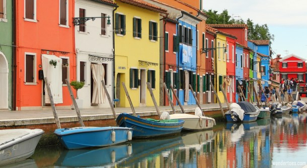Burano Island for Travel Photography