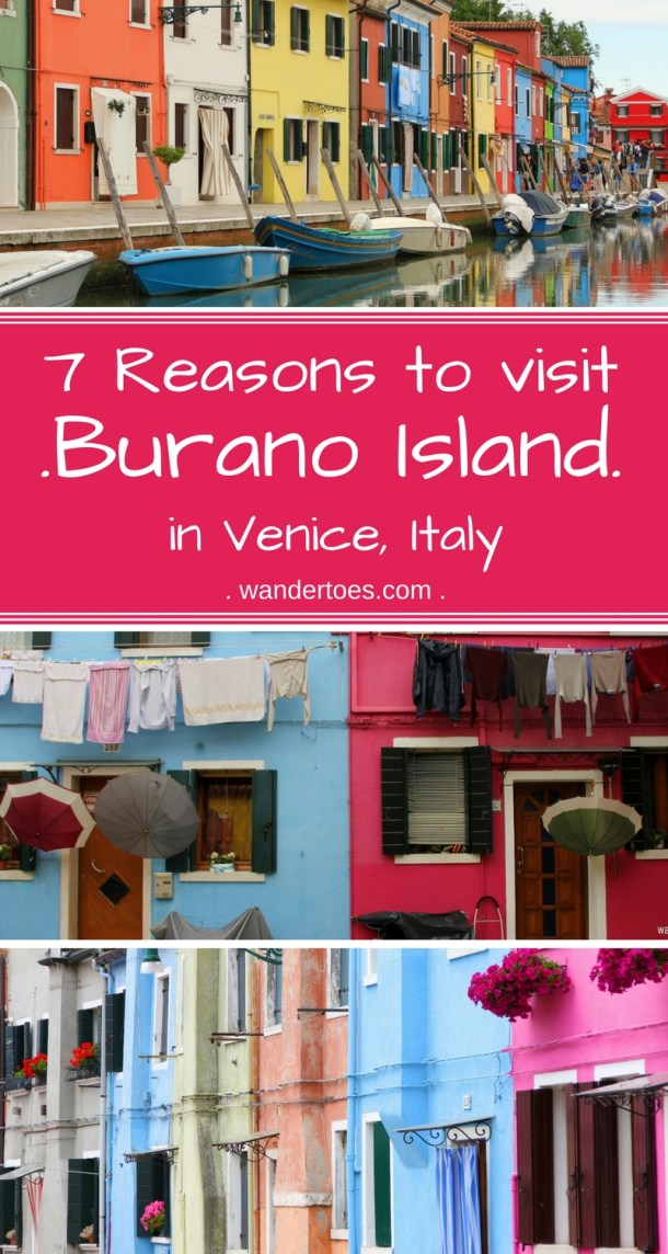 Burano Island in Venice, Italy, is a side trip well worth the visit.