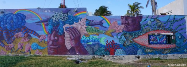 Isla Mujeres Street Art & Murals  Sea Walls Artists for Oceans