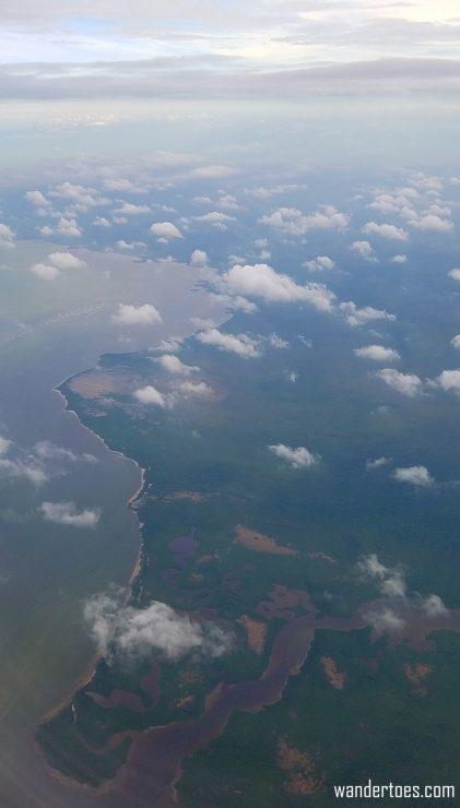 Plane Window Yucatan