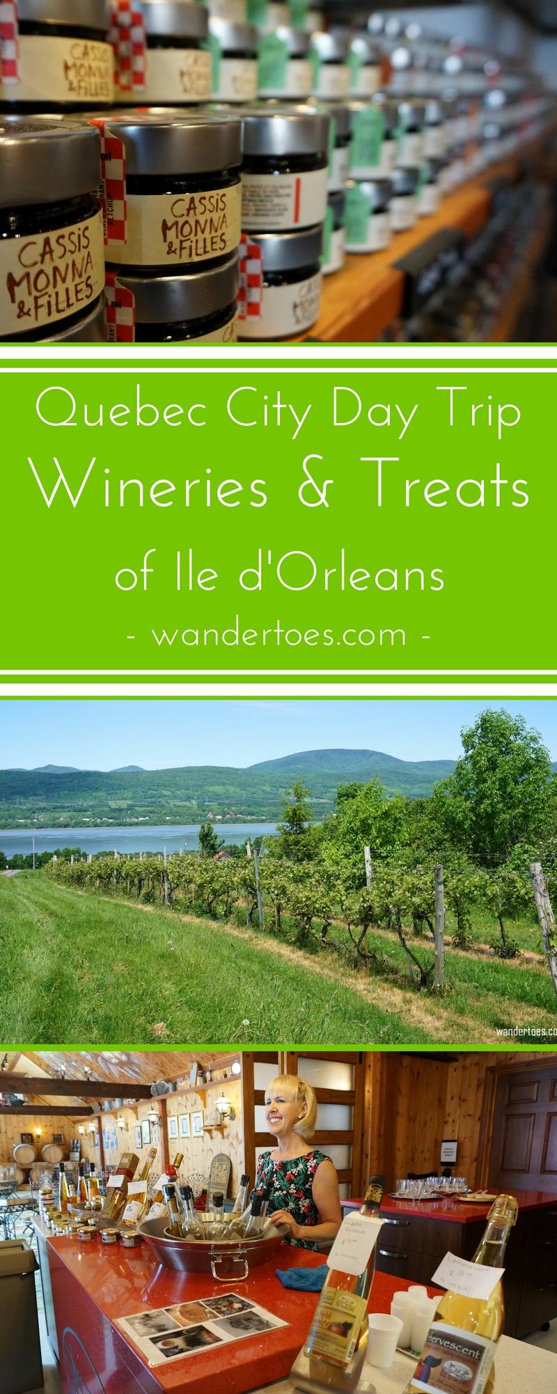 Ile d'Orleans, Quebec City, Canada: A delicious tour of the