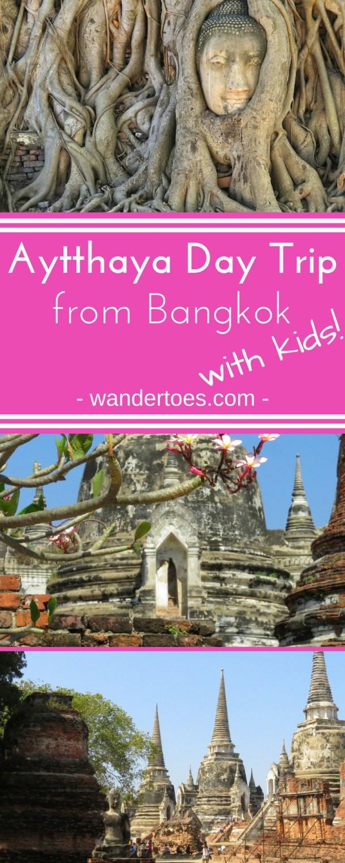 Ayutthaya, Thailand: A great day trip from Bangkok with a rich history and amazing ruins. Even the kids loved it! | Ayutthaya Day Trip | Bangkok Day Trip | Bangkok to Ayutthaya | Ayutthaya with Kids | Ayutthaya Bangkok