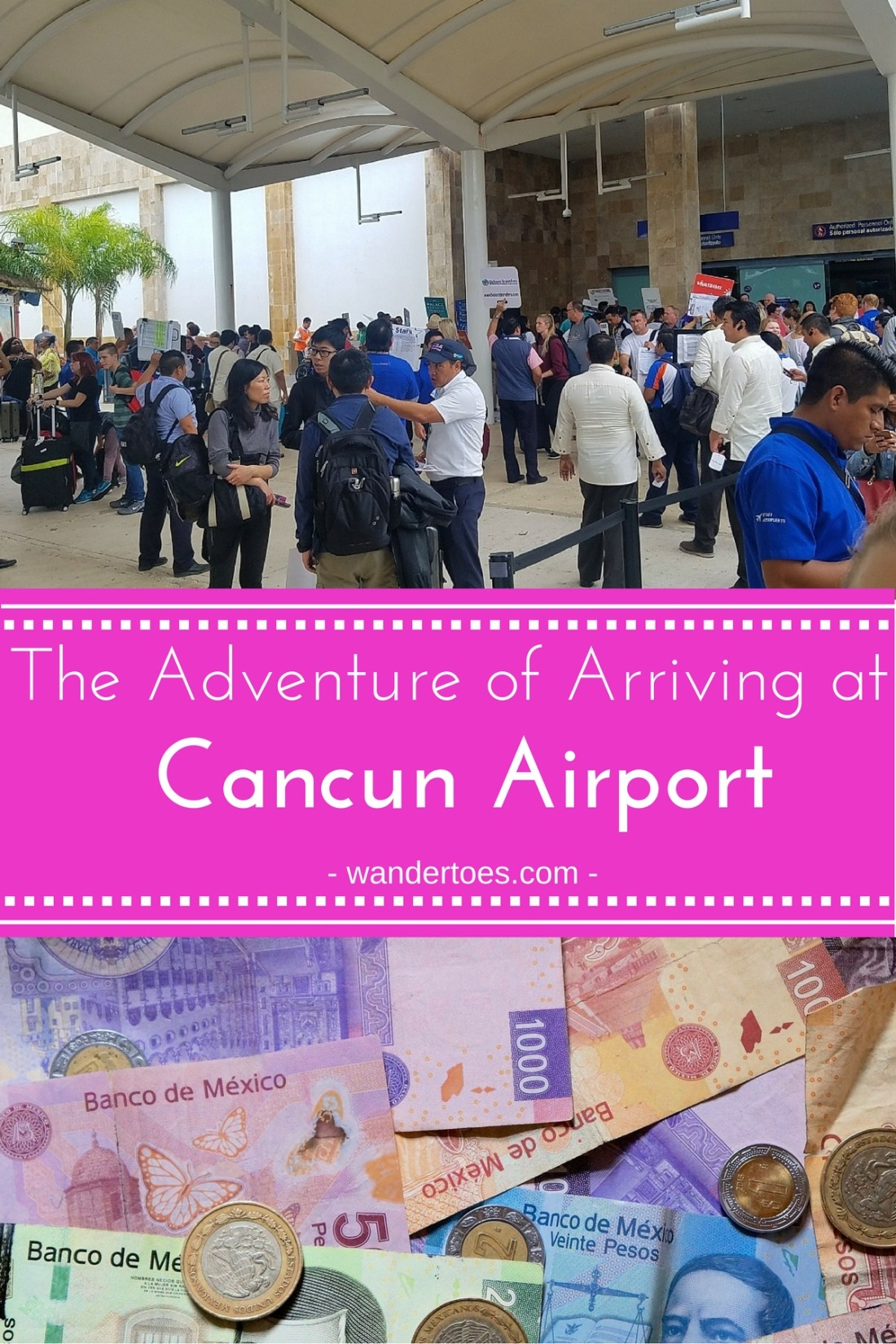 Cancun Mexico Airport Arrival