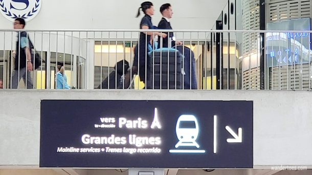 Step-by-step guide to Paris CDG Train station | Paris airport train station | Paris charles de gaulle train station