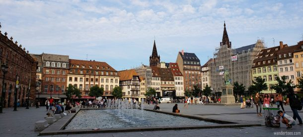 Place Kleber in Strasbourg | Things to do in Strasbourg France | Strasbourg France Things To Do