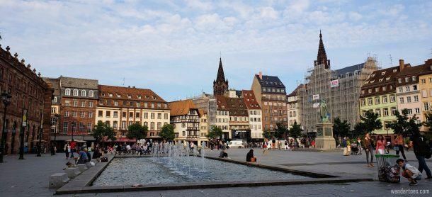 Place Kleber | Strasboug Shopping | Things to do in Strasbourg France | Strasbourg France Things To Do