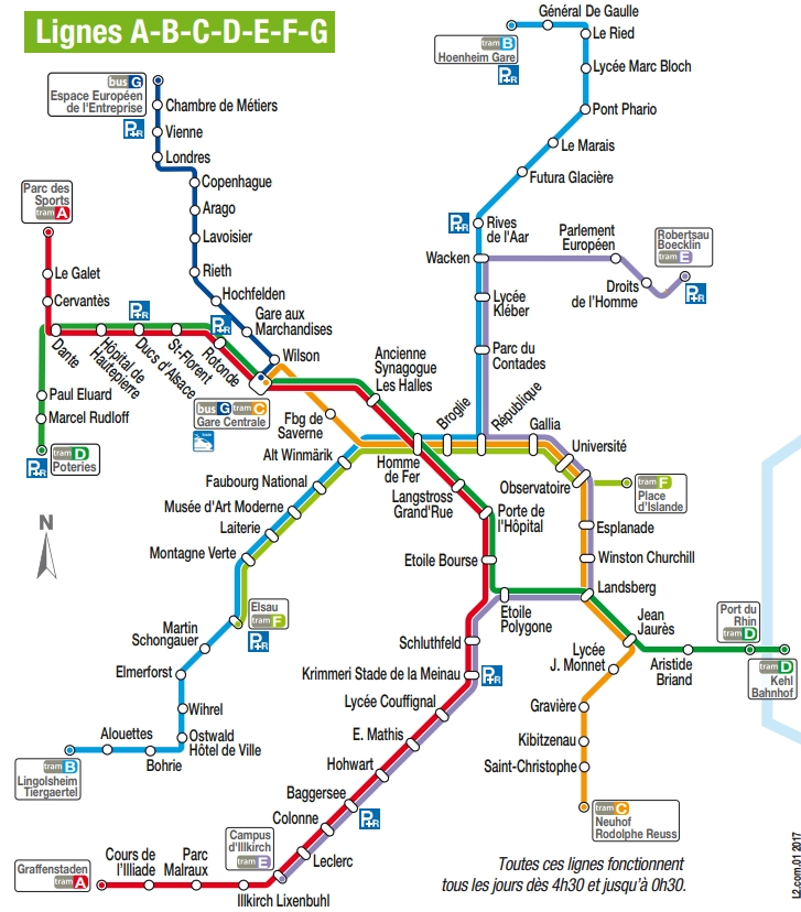 Strasbourg Tram Guide | Strasbourg Tram Map | Things To Do in Strasbourg France