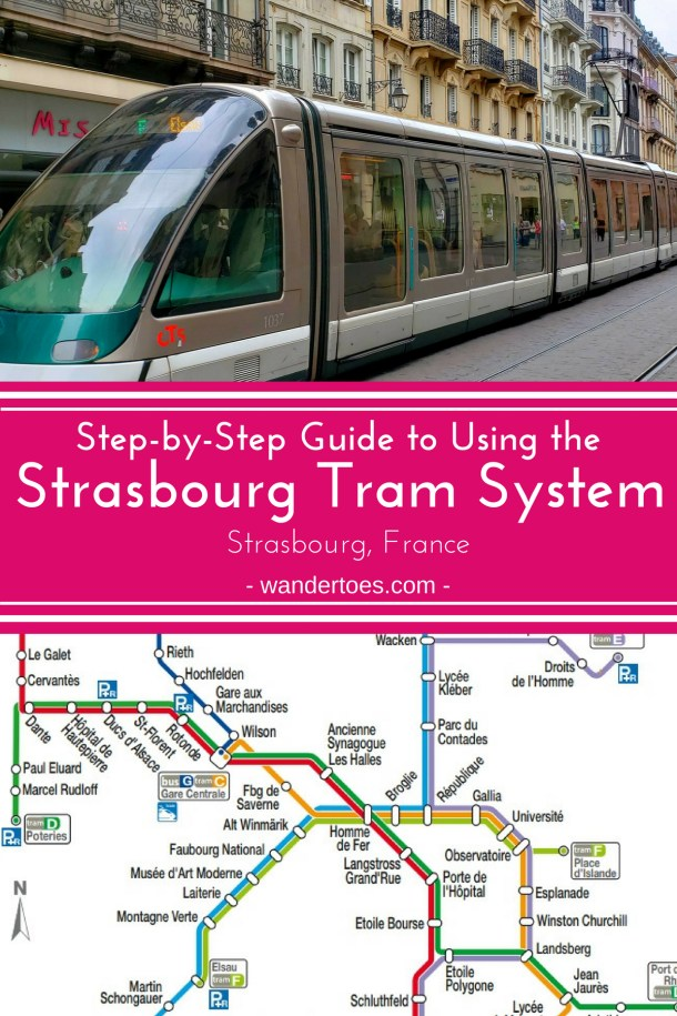 Strasbourg, France: This Step-by-Step Guide to using the Strasbourg Tram system - with maps and photos - will get you on the system and gliding around the city in no time! | Strasbourg Tram Guide | Strasbourg Tram Map | Things To Do in Strasbourg France