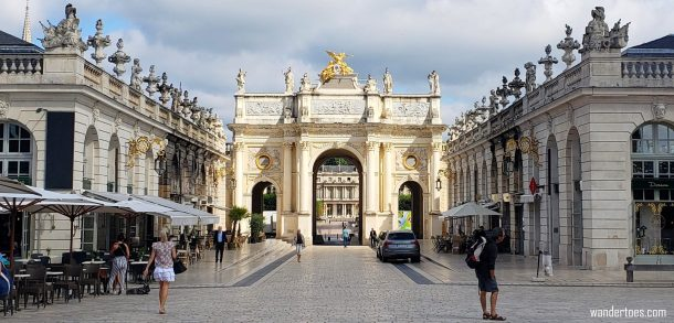 Arc de Triomphe Nancy France   Things to do in Nancy France   Nancy France Map   Nancy France Things to do   Nancy France Points of Interest   UNESCO World Heritage
