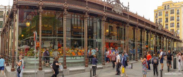 Mercado San Miguel Madrid Food Market Entrance