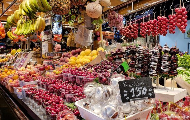 La Boqueria Food Market Barcelona