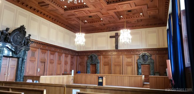 Courtroom 600 Nuremberg Trials Courtroom