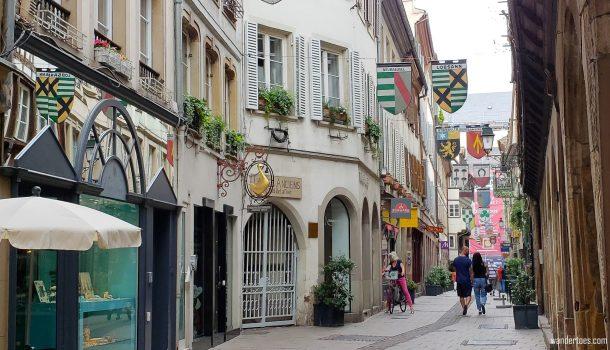 Rue des Orfevres Strasbourg Shopping