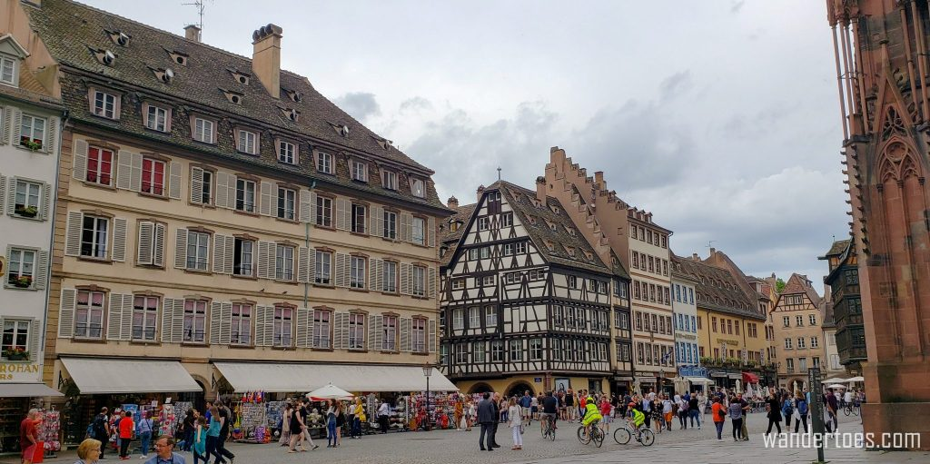 Shopping in Strasbourg Cathedrale area