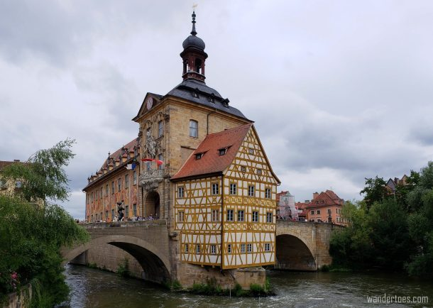 Bamberg Day Trip by Train, Bamberg Altes Rathaus, Bamberg Old Town Hall