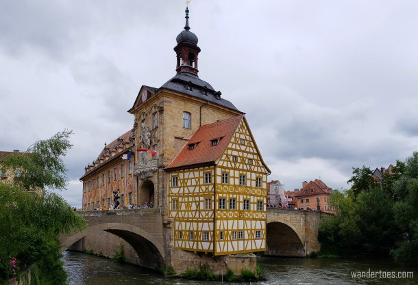 Bamberg Altes Rathause | Day trips from Nuremberg