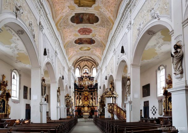 1 day in Bamberg St. Stephen's Church