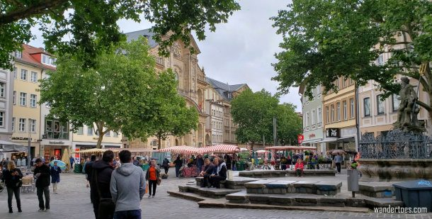 1 day in Bamberg Germany, Bamberg Gruner Markt, Bamberg Green Market