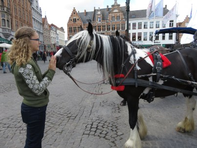 And suddenly, Brugge is Lydia's favorite city.