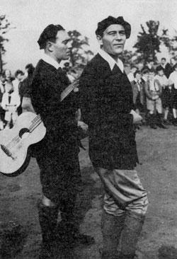 Robert et Karl Oelbermann