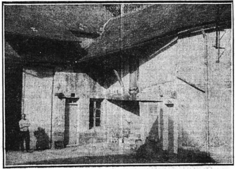 Le populaire - 23.08.1933 - Les bonnes auberges de jeunesse - L'auberge de jeunesse de Villeneuve-sur-Auvers