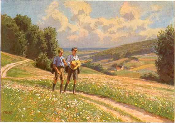 Paul Hey (1867-1952) - Wandern - Randonner