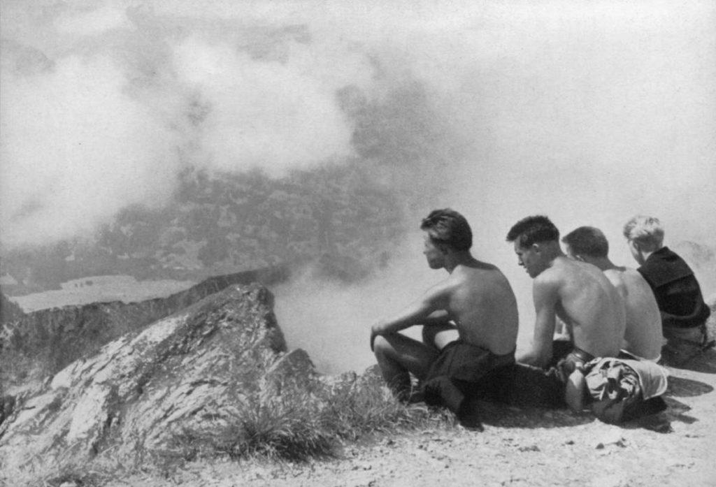 Sur le Nebelhorn près d'Oberstdort 8allemagne) - 1957 - Fotobuch der Jugendbewegung